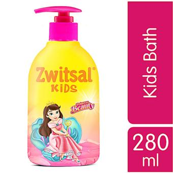 Zwitsal Kids Bath Beauty Pink - Pump - 280mL