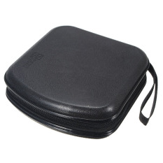 40 Disc Storage Holder Sleeve Case Hard Box Wallet Bag Zipper (Black) (Intl)