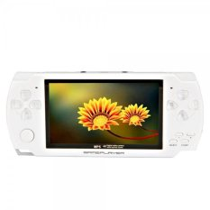 """4GB 4.3"""" New Style MP3 / MP4 / MP5 Palyer With Camera / Game / E-book / AV-out / Voice Recorder (White) B4 - Intl"""