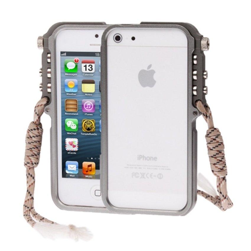 4th Design Trigger iPhone SE / 5S / 5 - Abu-abu