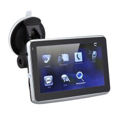 "5"" HD Touch Screen Portable Car GPS Navigation 128MB RAM 4GB FM Video Play Car Navigator + Free Map (Intl)"