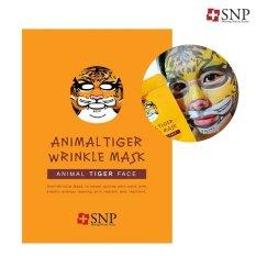 10 Sachet SNP Animal Tiger Mask (Free Box)
