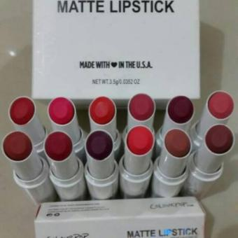 12 Pcs Colourpop Matte Lipstik