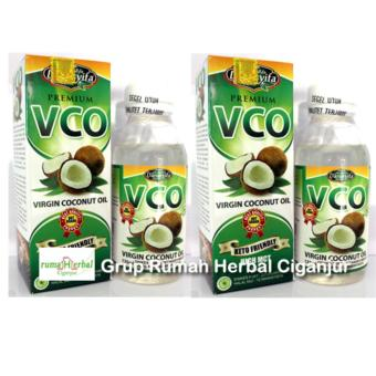 2 Botol Virgin Coconut Oil - VCO Darusyifa (1 botol isi 125 ml)