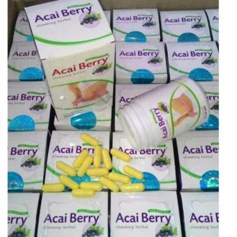 Acai Berry Slimming Herbal 30 Kapsul Original Adonai