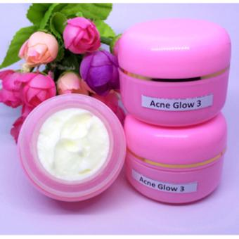 acne white / acne glow / glowing acne / krim jerawat plus pemutih