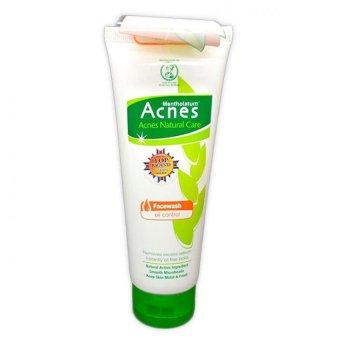 Acnes Natural Care Face Wash Oil Control 100g