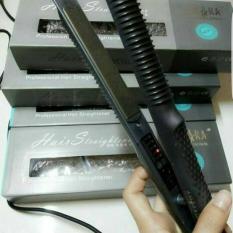 Amara Profesional Hair Straightener Catok 2in1 - Hitam