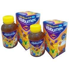 An Nuur Madu Albumin Anak Plus Vitabumex 2Botol (Rasa Lemon) - 175gr