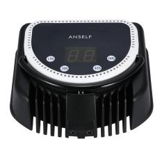 Anself 110-240V 64W Pro 32pcs LED Nail Dryer Lamp Curing MachineWith Lifting Handle Touch Sensor LCD Screen Powerful Nail PolishGel Dryer Salon Tool US Plug White - Intl