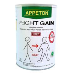 Appeton Weight Gain Susu Rasa Cokelat Dewasa - 450 gram Adults Coklat