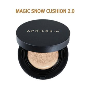 April Skin - Magic Snow Cushion Black 15g Natural Beige