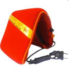 Bantal Panas Teraphi Elektrik Panjang Lembut- Merah