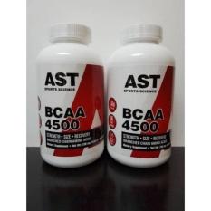 BCAA AST 4500mg 462 caps ( BCAA Capsule 462caps / 462 capsules )