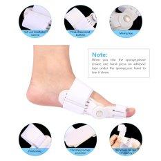 Big Toe Bunion Splint Pain Relief Valgus Pad Straightener Corrector Brace Foot Care Tool - intl