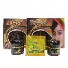 Bio Gold Whitening Cream / Cream Wajah Biogold - 1 Paket