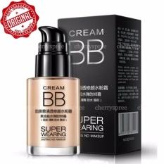Bioaqua BB Cream Super Wearing Lasting Concealer Foundation Make Up Kulit Muka Waterproof Long Lasting #Ivory White Tone 30ml - Putih