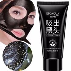 BIOAQUA Cherryspree Carbon Original Remove Blackhead Masker Komedo Perawatan Kulit Masker Kontrol Jerawat Minyak Angkat Komedo Gratis Masker - 60gr