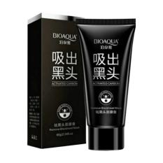 Bioaqua Masker Charcoal Carbon Activated Anti Komedo Peel Off Mask Actived