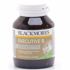 Blackmores Executive B Stress Formula Bpom Kalbe 62 Tablet
