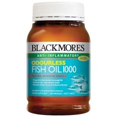 Blackmores Odourless Fish Oil 1000mg - 200 Kapsul