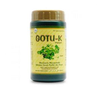 borobudur herbal gotu k 100 kapsul meningkatkan daya