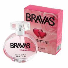 BRAVAS Original Valentine Perfume XX-CT-670132 Eau De Parfum 75 ML - Pink