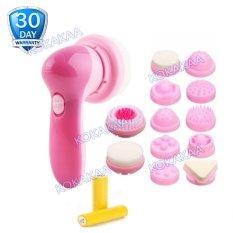 Cnaier 12 in 1 Facial Massager Cleanser plus Battery Bundle