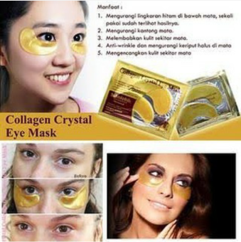 Collagen Crystal Eye Mask - Masker Mata Collagen - Masker Mata - 0.2 Gr (…)