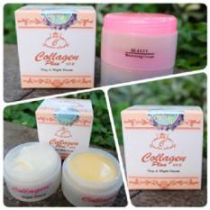 Collagen Penghilang jerawat Cream 2 In1