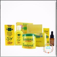 Cream Temulawak Original Holo Super - Paket Komplit Temulawak ( Cream Siang, Cream Malam, Sabun, Toner dan Serum )