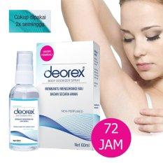 Deorex Body Odorizer 60ml - Obat Penghilang Bau Badan