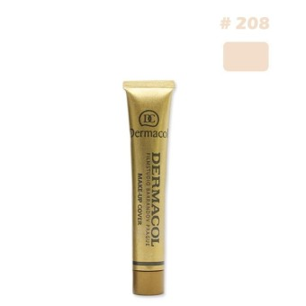Details about Dermacol Waterproof High Covering Conceal Make up Foundation - intl