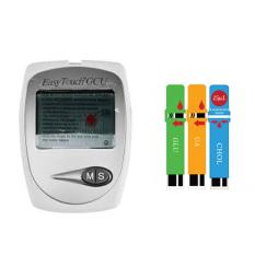 Easy Touch GCU - 3 in 1 - Alat cek Kadar Gula Darah / Kolesterol / Asam Urat