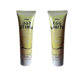 Egg White Peel Off Mask Masker Putih Telur 85gr - 2pcs