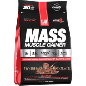 Elite Labs Muscle Mass Gainer 4Lbs repack