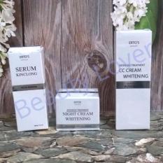Ertos Paket Kinclong (CC Cream+Night Cream+Serum Kinclong)