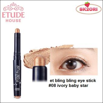 Etude House Bling Bling Eye Stick No.08 Ivory Baby Star