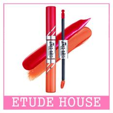 ETUDE HOUSE Twin Shot LIPSTINT 8g (#OR203 Thank You X Very Shot)