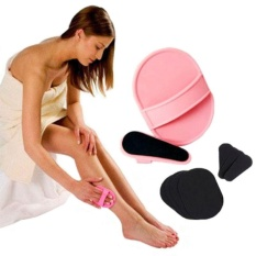 Facial Arms Legs Body Skin Hair Removal Exfoliator Pad Sets Epilator Skin Smooth - intl