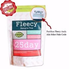 Fleecy Bangle Tea Original Hologram Teh Kesehatan Pelangsing Menurukan Berat Badan Terlihat Hasil Dalam 2 Minggu - Isi 25
