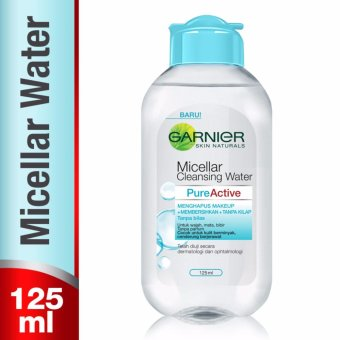 Garnier Micellar Cleansing Water - Pure Active - 125 ml
