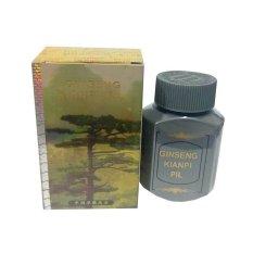 Ginseng Kianpi pil Penggemuk Herbal Gold - 60 Capsul