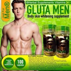 Glutamen Pemutih Kulit Badan Dan Tubuh Pria - Isi 100 kapsul | Pure Collagen Pancea Celena Tathione Lachel Rodotex