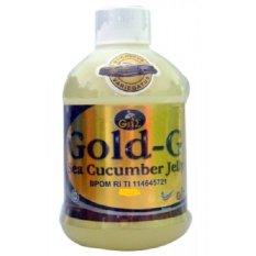 Gold-G Herbal Jelly Gamat Sea Cucumber - 500ml