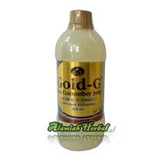 Gold G Jelly Gamat Cucumber Jelly Ekstrak Gamat/Teripang Emas - 500 ml