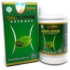 Green Coffee Ash Shihhah Diet Alami - 60 Kapsul