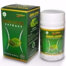 Ash-Shihhah Green Coffee Extract / Pelangsing Tubuh Alami 60 Kapsul - 1pcs
