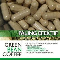 Green coffee/ Kopi hijau/ kopi diet kapsul 500 mg tanpa botol ORIGINAL 100 %