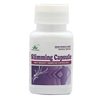 Green World Slimming Capsule - Herbal Pelangsing - isi 60 Kapsul